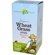 Amazing Grass, Organic Wheat Grass, Whole Food Drink Powder, 15 Individual Packets, 8 g Each - iHerb.com