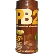 Bell Plantation, PB2, Powdered Peanut Butter with Premium Chocolate, 6.5 oz (184 g) - iHerb.com