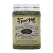 Bob\'s Red Mill, Green Lentils Heritage Beans, Petite French Style, 24 oz (680 g) - iHerb.com