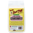 Bob\'s Red Mill, Organic Stone Ground White Rice Flour, 24 oz (680 g) - iHerb.com