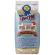 Bob\'s Red Mill, Steel Cut Oats, Natural Cereal, 24 oz (680 g) - iHerb.com