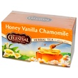 Celestial Seasonings, Травяной чай, без кофеина, мед, ваниль и ромашка 20 чайных пакетиков, 1.7 унции (47 г) - iHerb.com