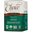 Choice Organic Teas, Organic Irish Breakfast, Black Tea, 16 Tea Bags, 1.1 oz (32 g) - iHerb.com