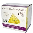Choice Organic Teas, Whole Leaf Organics, Estate Blend Darjeeling, 15 Tea Pyramids, 1.05 oz (30 g) - iHerb.com