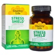 Country Life, Gluten Free, Stress Shield, Triple Action, 60 Vegan Caps - iHerb.com