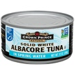Crown Prince Natural, Solid White Albacore Tuna, In Spring Water, 12 oz (340 g) - iHerb.com