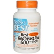 Doctor\'s Best, Best Red Yeast Rice 600, with CoQ10, 120 Veggie Caps - iHerb.com