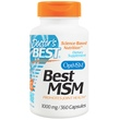 Doctor\'s Best, Best MSM, 1000 mg, 360 Capsules - iHerb.com