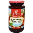 Eden Foods, Organic Crushed Tomatoes with Sweet Basil, 14 oz (396 g) - iHerb.com