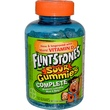 Flintstones, Sour Gummies Complete, Children\'s Multivitamin/Multimineral Supplement, 150 Gummies - iHerb.com