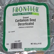 Frontier Natural Products, Ground Cardamom Seed Decorticated, 16 oz (453 g) - iHerb.com