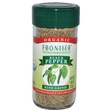 Frontier Natural Products, Organic Black Pepper, Fine Grind, 1.80 oz (52 g) - iHerb.com