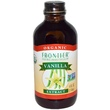 Frontier Natural Products, Organic, Vanilla Extract, 4 fl oz (118 ml) - iHerb.com