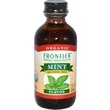 Frontier Natural Products, Organic Mint Flavor, Alcohol Free, 2 fl oz (59 ml) - iHerb.com