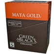 Green & Black\'s Chocolate, Organic Dark Chocolate, Maya Gold, 10 Bars, 3.5 oz (100 g) Each   - iHerb.com
