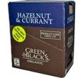 Green & Black\'s Chocolate, Organic Dark Chocolate, Hazelnut & Currant, 10 Bars, 3.5 oz (100 g) Each  - iHerb.com