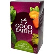 Good Earth Teas, Super Green Tea, Matcha, Sencha & Orange, 18 Tea Bags, 1.37 oz (39 g) - iHerb.com