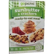 GoPicnic, Ready-to-Eat Meals, Sunbutter & Crackers, 3.6 oz. - iHerb.com