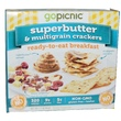 GoPicnic, Ready-to-Eat Breakfast Meals, Superbutter & Multigrain Crackers, 2.2 oz - iHerb.com