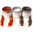 Gustus Vitae, Artisan Gourmet Finishing Salts Collection, Set of 3 Gift Set - iHerb.com