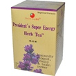 Health King, Herb Tea, President\'s Super Energy, 20 Tea Bags, 1.26 oz (36 g) - iHerb.com