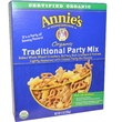 Annie\'s Homegrown, Organic Traditional Party Mix, 9 oz (255 g) - iHerb.com