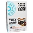 Health Warrior, Inc., Chia Bars, Variety Pack, Coffee, Chocolate Peanut Butter, Dark Chocolate Cherry, 15 Bars - iHerb.com