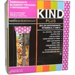 KIND Bars, Plus Bars, Pomegranate Blueberry Pistachio + Antioxidants, 12 Bars, 1.4 oz (40 g) Each - iHerb.com