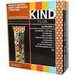 KIND Bars, Plus, Fruit & Nut Bars, Peanut Butter Dark Chocolate + Protein, 12 Bars, 1.4 oz (40 g) Each - iHerb.com
