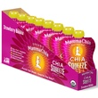 Mamma Chia, Organic Chia Squeeze Vitality Snack, Strawberry Banana, 8 Pouches, 3.5 oz (99 g) Each - iHerb.com