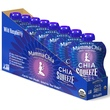 Mamma Chia, Organic Chia Squeeze, Vitality Snack, Wild Raspberry, 8 Pouches, 3.5 oz  (99 g) Each - iHerb.com