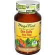 MegaFood, One Daily Iron Free, 60 Tablets - iHerb.com