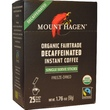 Mount Hagen, Organic Fairtrade Instant Decaffeinated Iinstant Coffee, 25 Sticks, 1.76 oz (50 g) - iHerb.com