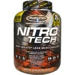 Muscletech, Performance Series, Nitro-Tech, Whey Isolate + Lean Musclebuilder, Milk Chocolate, 3.97 lbs (1.80 kg) - iHerb.com