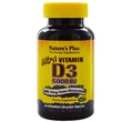 Nature\'s Plus, Ultra Vitamin D3, 5000 IU, 90 Extended Release Tablets - iHerb.com