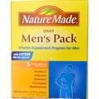Nature Made, Daily Men\'s Pack, 5 Supplements Per Packet, 30 Packets - iHerb.com