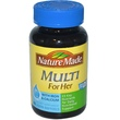 Nature Made, Multi for Her, 60 Liquid Softgels - iHerb.com