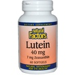 Natural Factors, Lutein, 40 mg, 60 Softgels - iHerb.com