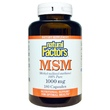 Natural Factors, MSM, (Methyl-Sulfonyl-Methane), 1000 mg, 180 Capsules - iHerb.com