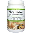Natural Factors, Whey Factors, 100% Natural Whey Protein, Matcha Green Tea, 12 oz (340 g) - iHerb.com