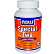 Now Foods, Special Two, 180 таблеток - iHerb.com