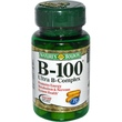 Nature\'s Bounty, B-100 Ultra B-Complex, 50 Coated Tablets - iHerb.com