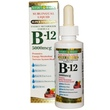 Nature\'s Bounty, B-12 Sublingual Liquid, Super Strength, Natural Berry Flavor, 5000 mcg, 2 fl oz (59 ml) - iHerb.com