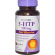 Natrol, 5-HTP, Wild Berry Flavor, 100 mg, 30 Tablets - iHerb.com