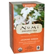 Numi Tea, Organic Green Tea, Medium Caffeine, Jasmine Green, 18 Tea Bags, 1.27 oz (36 g) - iHerb.com