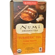 Numi Tea, Organic, Turmeric Tea, Three Roots, 12 Tea Bags, 1.42 oz (40.2 g) - iHerb.com