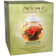 Numi Tea, Flowering Tea, Teahouse, Glass Teapot, Serves 14 fl oz (420 ml) - iHerb.com