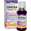 Nature\'s Way, Umcka, Cold+Flu, Fructose-Free Syrup, Orange Flavor, 4 oz (120 ml) - iHerb.com