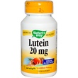 Nature\'s Way, Lutein, 20 mg, 60 Softgels - iHerb.com