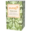 Pukka Herbs, Three Mint, Caffeine Free, 20 Tea Sachets, 1.12 oz (32 g) - iHerb.com